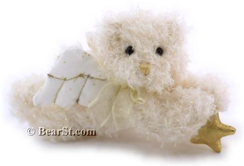 Gund Crystal Angel Bear Ornament