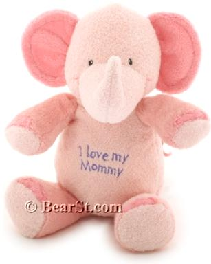 Gund I love my Mommy Elephant