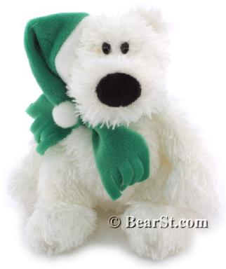 Gund Schlepp Ornament, green